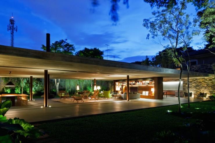 Casa - V4 -Marcio - Kogan -3  Arquitetura – Casa V4 de Marcio Kogan Casa V4 Marcio Kogan 3 e1345645164387