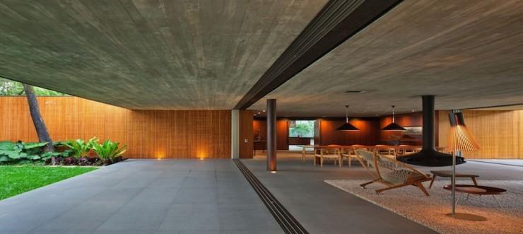 Casa - V4 -Marcio - Kogan  Arquitetura – Casa V4 de Marcio Kogan Casa V4 Marcio Kogan e1345645300445