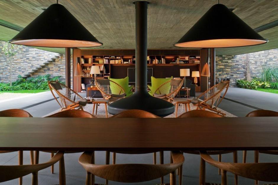 Arquitetura casa v4 de marcio kogan decora o pra casa - Moderne lounges fotos ...