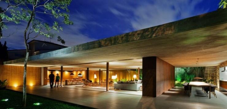 marcio - kogan - studiomk27 - casa - v4 - 8  Arquitetura – Casa V4 de Marcio Kogan marcio kogan studiomk27 casa v4 8 e1345645524347