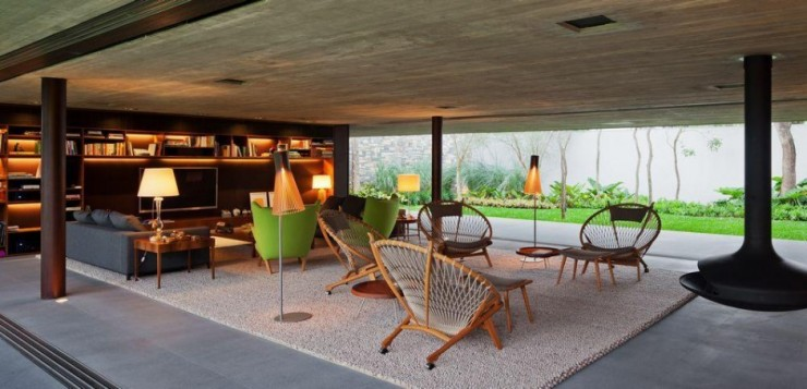 marcio - kogan - studiomk27 - casa - v4 - 9  Arquitetura – Casa V4 de Marcio Kogan marcio kogan studiomk27 casa v4 9 e1345645389736