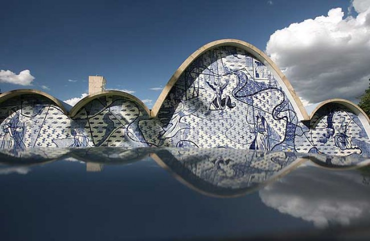 bairro da Pampulha  Belo Horizonte  Oscar Niemeyer, uma lenda viva Pampulha e1348653595608