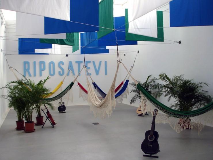 riposatevi  Verde e amarelo na Bienal de Veneza riposatevi e1348608237172