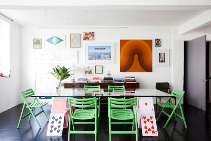 """""""Detalhe da sala de jantar do apartamento.""""  DECORAÇÃO: O lar de Maurício Arruda em São Paulo Apto Mauricio Arruda 3 e1350642912958"""