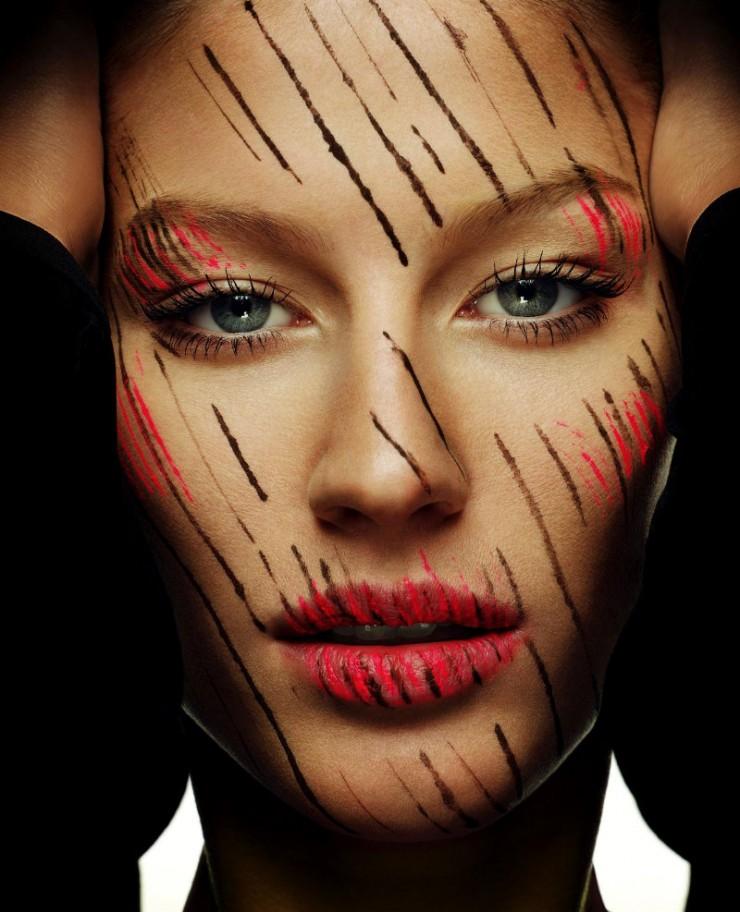 Gisele Bundchen por Regan Cameron  Moda - A Übermodel brasileira Gisele Bundchen por Regan Cameron e1349088188218