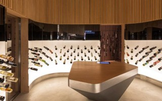 Mistral Wine Bar by Studio Arthur Casas-6  Arquitectura – Mistral Wine Bar do Studio Arthur Casas Mistral Wine Bar by Studio Arthur Casas 61 320x200