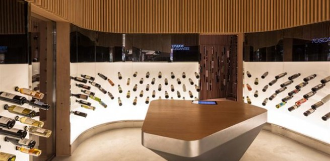 Mistral Wine Bar by Studio Arthur Casas-6  Arquitectura – Mistral Wine Bar do Studio Arthur Casas Mistral Wine Bar by Studio Arthur Casas 61 655x320