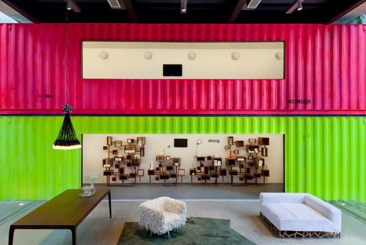 """""""Interior da Loja Decameron""""  DESIGN: Loja Decameron em São Paulo loja decameron 2 e1350469421332"""
