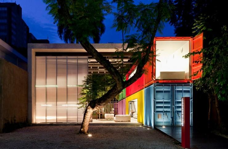 """""""Uma das fachadas da loja decameron em São Paulo.""""  DESIGN: Loja Decameron em São Paulo loja decameron e1350468217599"""