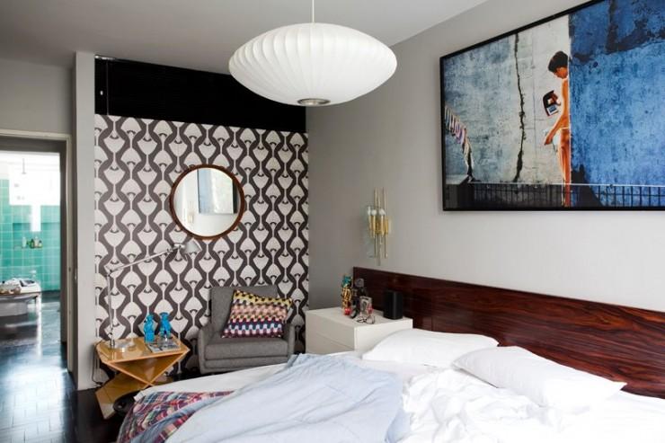 """""""Apartamento de Maurício Arruda, pormenor do quarto.""""  DECORAÇÃO: O lar de Maurício Arruda em São Paulo mauricio arruda apartamento antonio carlos sao paulo 3 e1350643051956"""