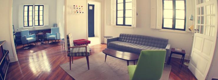 """""""Hostel de design em São Paulo. Pormenor de sala.""""  Lifestyle – """"Design Hostels"""" invadem o Brasil wehosteldesign e1349775960188"""