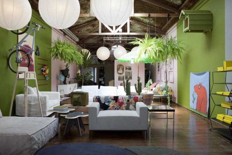 """""""Interior da loja Carbono""""  Design: Marcus Ferreira e a sua Loja Carbono Design carbono design 3 e1353493817774"""