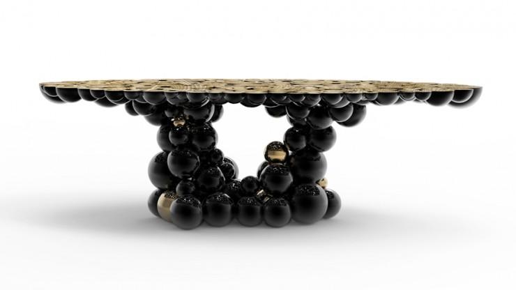 design boca do lobo e a sua glamorosa mesa de jantar decora o pra casa. Black Bedroom Furniture Sets. Home Design Ideas