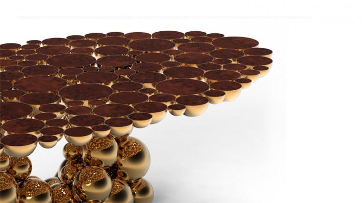 Design: Boca do Lobo e a sua glamorosa mesa de jantar newton black gold dining table large size table limited edition boca do lobo 08 e1352373759136