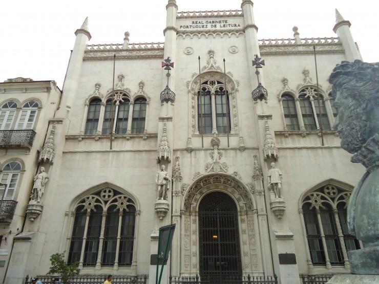 """""""Fachada do real gabinete portugues de leitura""""  Arte &Cultura: Real Gabinete Português de Leitura real gabinete portugues de leitura 6 e1353322168983"""