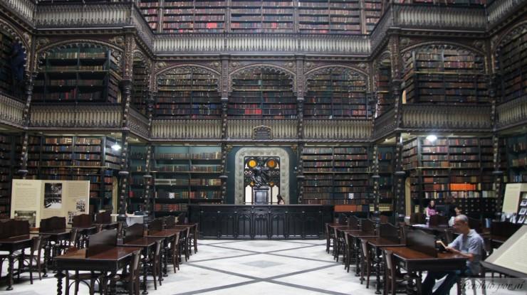 """""""Sala de Leitura do Real Gabinete Português de Leitura""""  Arte &Cultura: Real Gabinete Português de Leitura real gabinete portugues de leitura 71 e1353322483206"""
