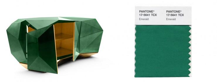 pantone 2013  Verde Esmeralda Cor Pantone 2013  Diptical2 e1355309683506