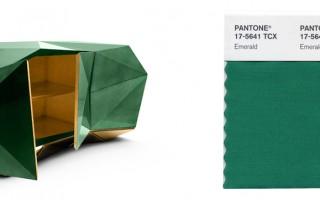 Verde Esmeralda Cor Pantone 2013
