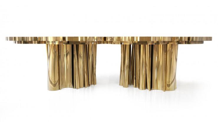 """""""Fortuna, mesa Boca do Lobo que está escolhida pela AD Collector 2013""""  Decoração: Mesas de Natal diferentes Fortuna e1354704807783"""