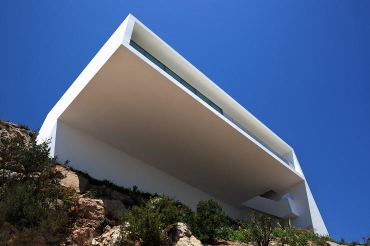 Fran Silvestre Arquitectos-2  Arquitectura – Deslumbrante Casa del Acantilado  Fran Silvestre Arquitectos 2 e1356632812604