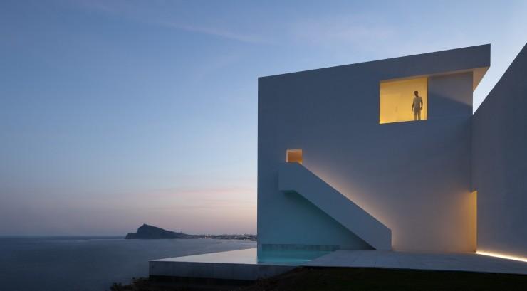 Fran Silvestre Arquitectos-4  Arquitectura – Deslumbrante Casa del Acantilado  Fran Silvestre Arquitectos 4 e1356632903727