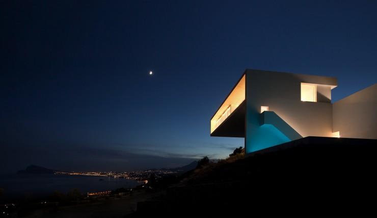 Fran Silvestre Arquitectos-5  Arquitectura – Deslumbrante Casa del Acantilado  Fran Silvestre Arquitectos 5 e1356632952648