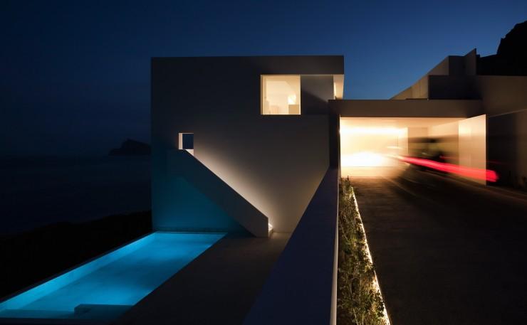 Fran Silvestre Arquitectos-6  Arquitectura – Deslumbrante Casa del Acantilado  Fran Silvestre Arquitectos 6 e1356632987869