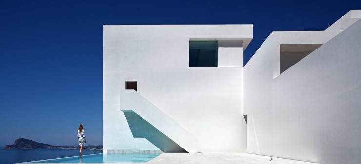 Fran Silvestre Arquitectos-7  Arquitectura – Deslumbrante Casa del Acantilado  Fran Silvestre Arquitectos 7 e1356633020470