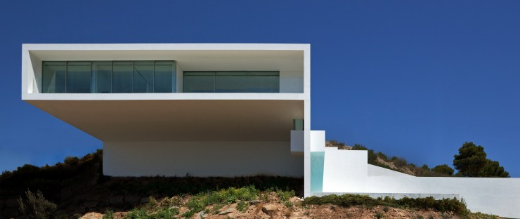Fran Silvestre Arquitectos  Arquitectura – Deslumbrante Casa del Acantilado  Fran Silvestre Arquitectos e1356632590317
