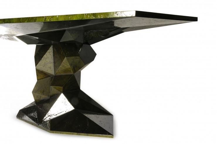 """""""Bonsai mesa de sala de jantar da Boca do Lobo""""  Decoração: Mesas de Natal diferentes bonsai 03 e1354705022987"""