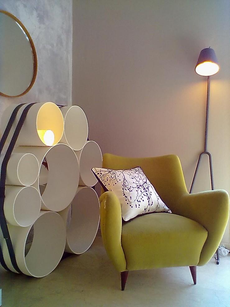 """""""Detalhe da loja via Mazoni de uma luminária.""""  Design e Decoração: Loja Via Manzoni no Rio de Janeiro loja via manzoni 2 e1354533925160"""