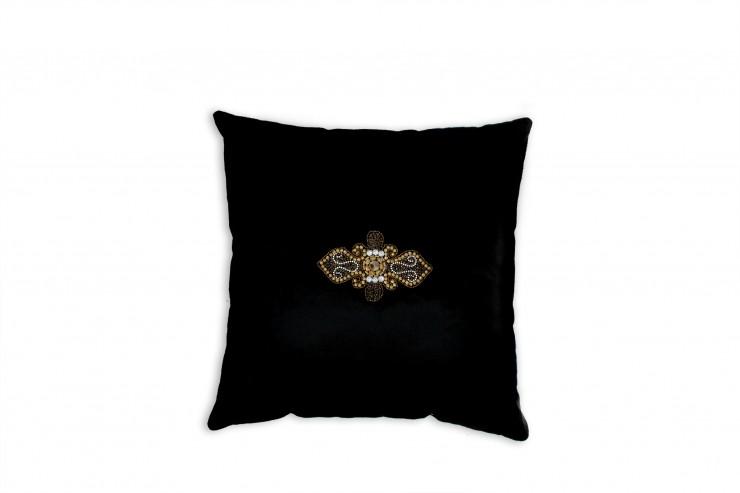 almofada  Edições Preto e Dourado pillow1 big e1355740164810
