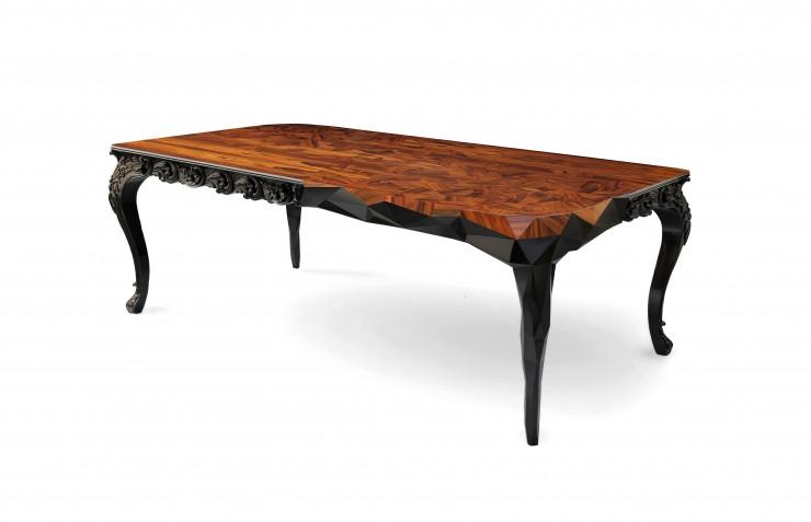 """""""Royal a mesa de jantar mais classica da Boca do Lobo mas sempre com toque de design""""  Decoração: Mesas de Natal diferentes royal 01 e1354704194277"""