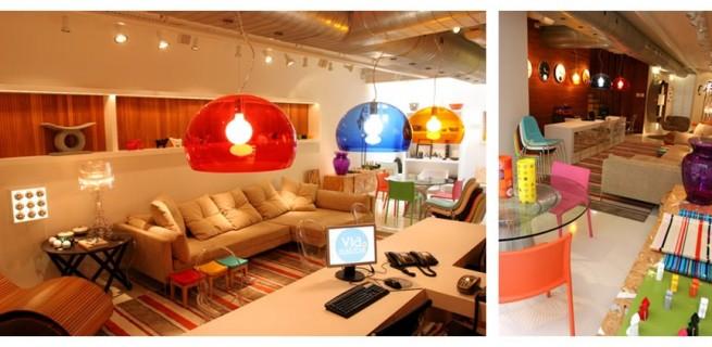 Design e Decoração: Loja Via Manzoni no Rio de Janeiro