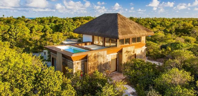 Casas de luxo na Praia do Forte