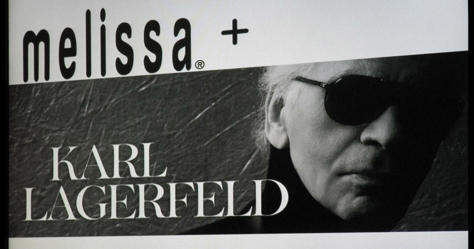 """Melissa e Karl Lagerfeld""  Melissa e Karl Lagerfeld Melissa e Karl Lagerfeld 6"