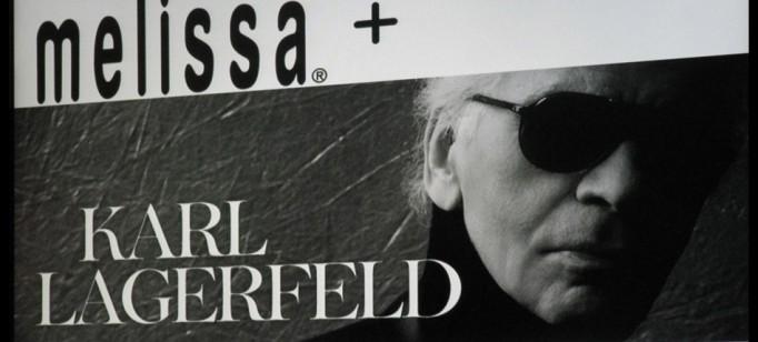 """""""Melissa e Karl Lagerfeld"""""""