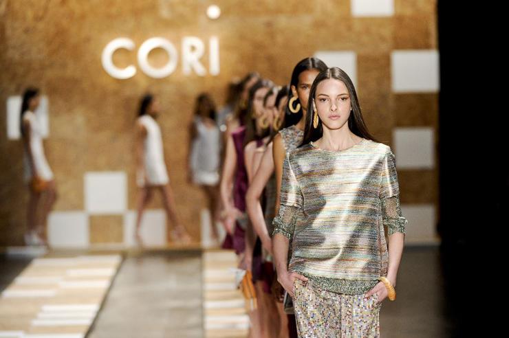 """""""cori""""  São Paulo Fashion Week 2013 cori"""