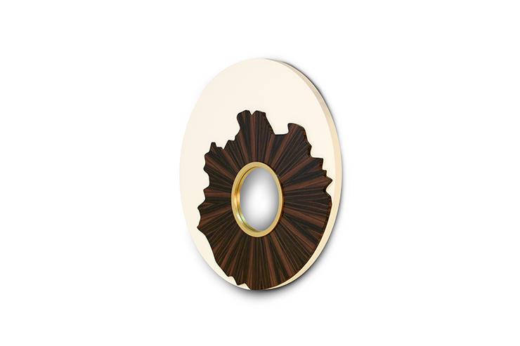 """""""iris brabbu""""  Decoração com espelhos modernos iris3 HR"""