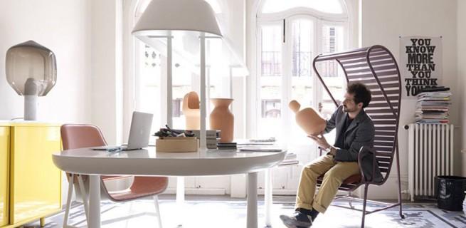 """""""Jaime Hayon at Milan Design Week 2013""""  Milão 2013: Gardenias de Jaime Hayon  Jaime Hayon at Milan Design Week 2013 655x320"""