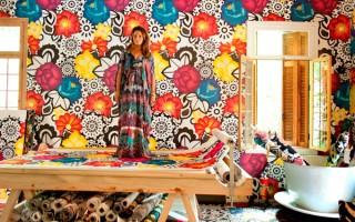 Adriana Barra lança tecidos para casa