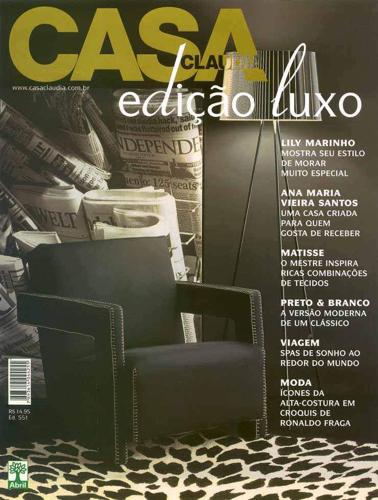 casaclaudialuxo  Top 10 das Revistas de Design no Brasil casaclaudialuxo