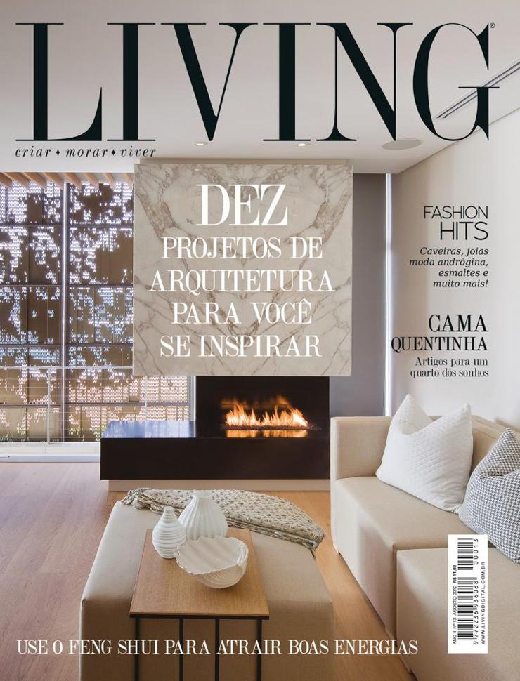 living  Top 10 das Revistas de Design no Brasil living