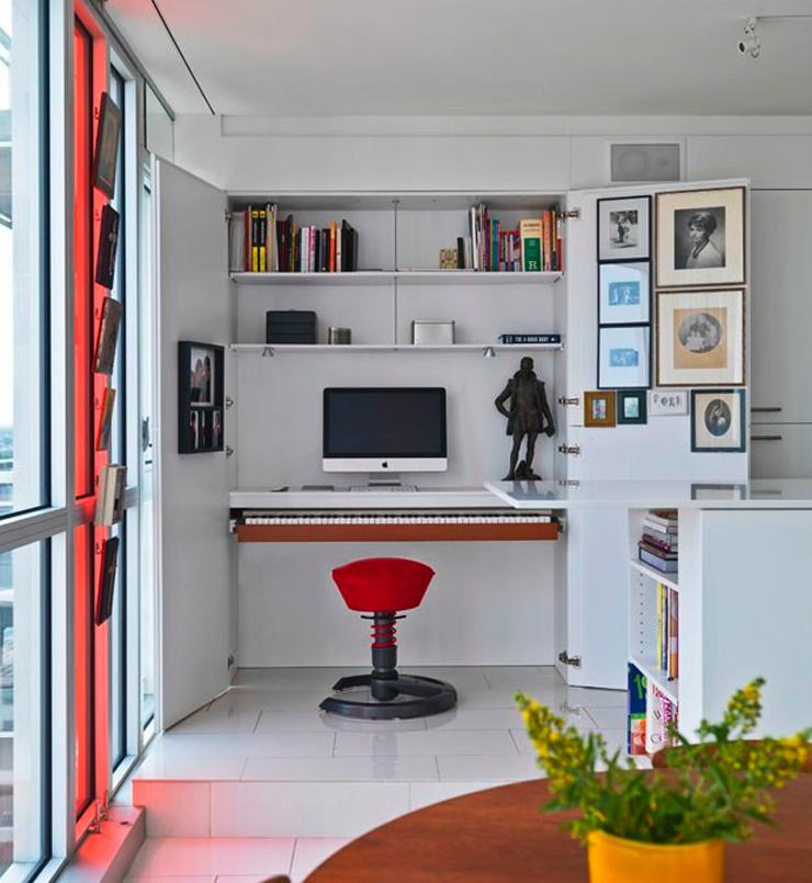 Imagem 10  Apartamento é cheio de soluções criativas Imagem 101