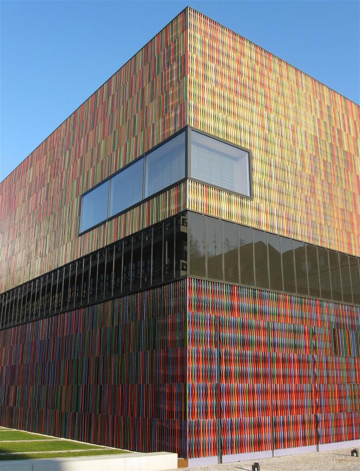Museum_Brandhorst_Muenchen1  A cor e a arquitetura Museum Brandhorst Muenchen1