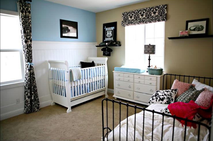 """""""Quarto para bebe e irmã mais velha de Tonya Joy."""" 15 Quartos Infantis de Sonho Decoração: 15 Quartos Infantis de Sonho Quartobebeirma"""