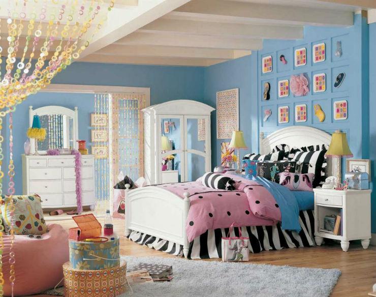 Decoração: 15 Quartos Infantis de Sonho 15 Quartos Infantis de Sonho Decoração: 15 Quartos Infantis de Sonho Trendy Girls Bedroom Design