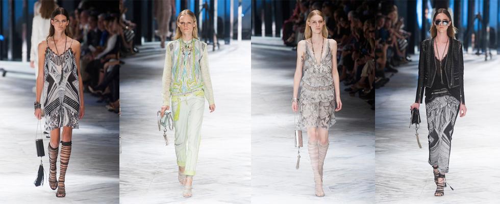 """""""Cavalli em Milão com inspiração nos anos 20""""  Moda: Milan Spring Fashion Week – Top 5 coleções! cavalli"""