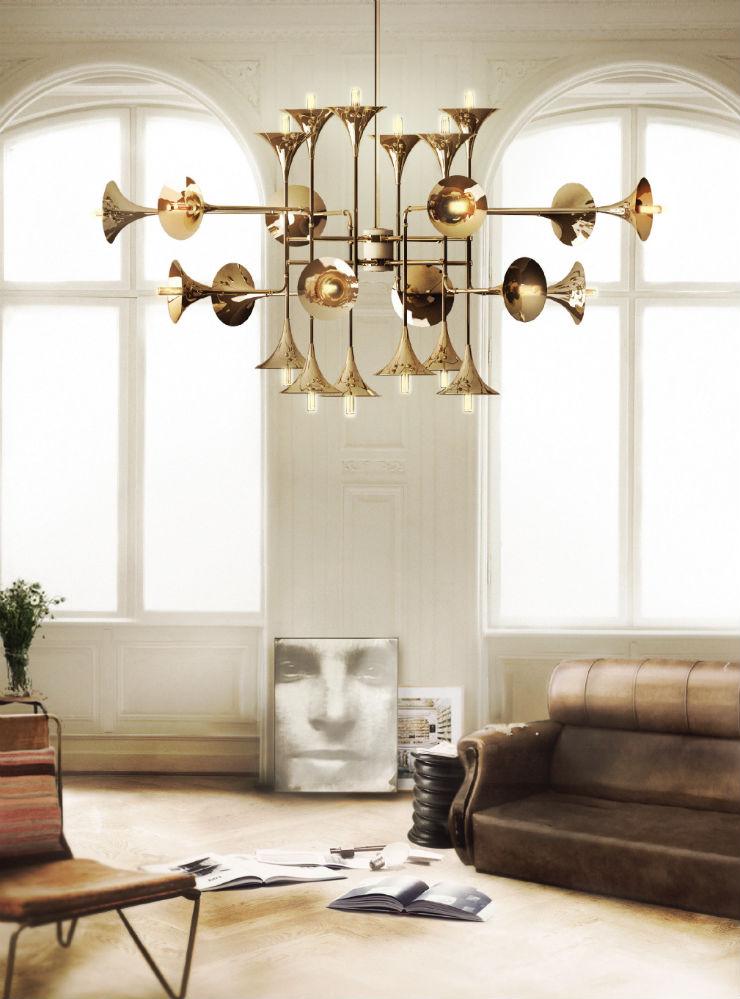 """""""Botti Suspension Lamp, da Delightfull, uma das mais belas peças de iluminação.""""  Eventos de Decoração - High Point Market 2013 delightfull botti 01"""