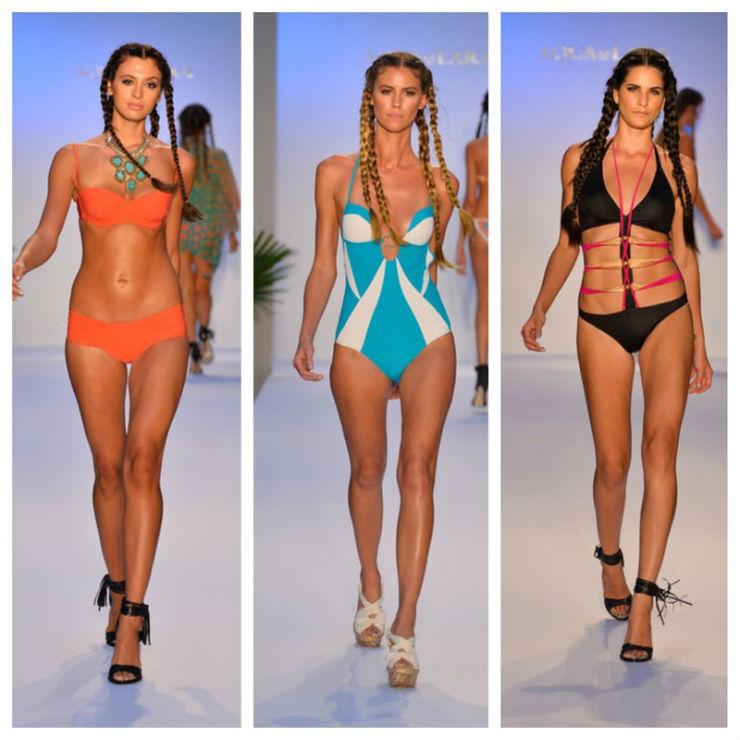 """""""Aqua di Lara e seus biquinis divinais.""""  Sensual na praia: bikinis para deixar qualquer um louco AquadiLara"""